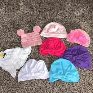 Baby Girls Hat Bundle